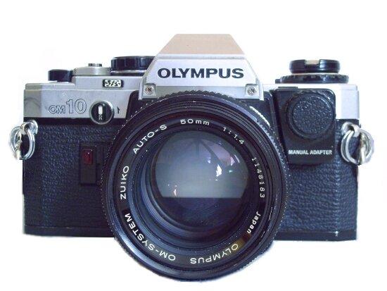 appareil photo olympus om 10